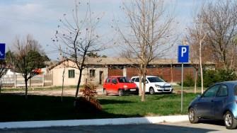 Curtea Spitalului din Hârșova. FOTO Ctnews.ro