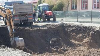 Lucrări în comuna Mihai Viteazu. FOTO Ctnews.ro