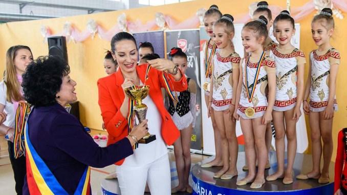 Campionatul Național de Gimnastică Ritmică a avut loc la Cumpăna. FOTO P.C.
