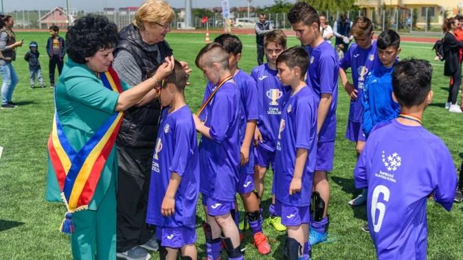 Fotbaliștii din Cumpăna au reușit să obțină locul II la Cupa Satelor. FOTO Primăria Cumpăna