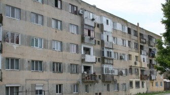 Bloc din Hârșova care va fi reabilitat. FOTO Ctnews.ro