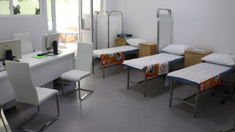 Policlinica Ovidius Clinical Hospital din Constanța. FOTO Adrian Boioglu