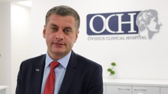 Bogdan Pană, medic în cadrul Ovidius Clinical Hospital. FOTO Adrian Boioglu