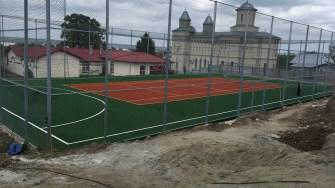 Teren de sport în comuna Oltina. FOTO Ctnews.ro