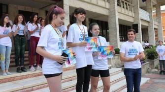 Crosul culorilor, de 1 iunie la Medgidia. FOTO Adrian Boioglu