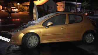 Accident rutier la Tuzla. FOTO Cristina Niță