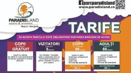 Tarife acces la Paradise Land Neptun