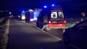 Mai multe echipaje medicale au intervenit la locul producerii accidentului. FOTO IPJ Constanța