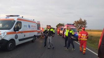 Trei persoane și-au pierdut viața în urma accidentului rutier. FOTO Ctnews.ro