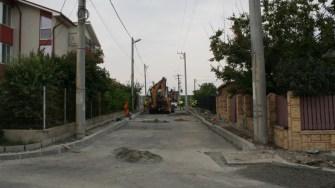 Lucrări de infrastructură în Schitu, comuna Costinești. FOTO Ctnews.ro