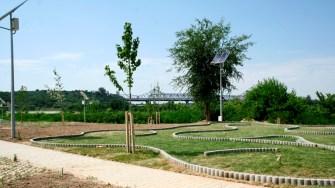 Parcul Via Verde din Cernavodă. FOTO Ctnews.ro