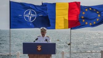 Șefului statului major al Forțelor Mavale, Alexandru Mârșu. FOTO Cătălin SCHIPOR