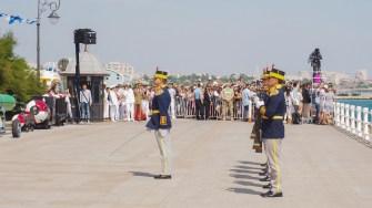 Garda de Onoare. FOTO Cătălin SCHIPOR