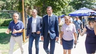 Ministrul Turismului Bogdan Trfi și președintele Consiliului Județean Constanța au semnat contractul de finanțare. FOTO CJ Constanța