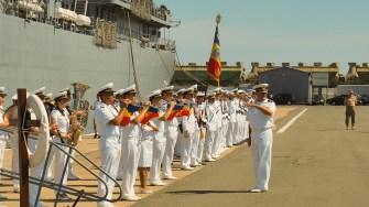 Fanfara militară a Forțelor Navale Române. FOTO Cătălin SCHIPOR