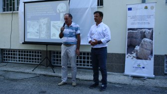 Vizita delegației din Hârșova în Bulgaria, la Krushari. FOTO Cristina Niță