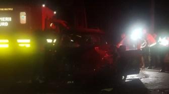 Șapte persoane au fost rănite în urma accidentului din Movilița. FOTO IPJ Constanța