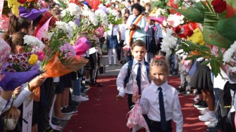 Anul nou școlar a debutat și la Cumpăna. FOTO Primăria Cumpăna