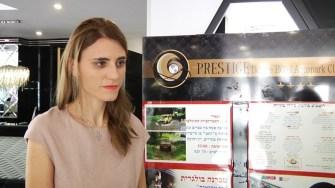 Diana Fintoacă - promotor al Hotelului Prestige Deluxe Aqua Park Club din Nisipurile de Aur.