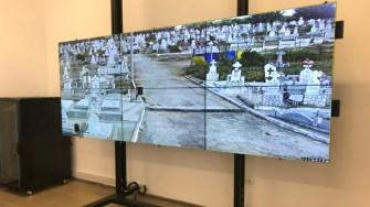Orașul Cernavodă este supravegheat cu peste 100 de camere video. FOTO Cristina Niță