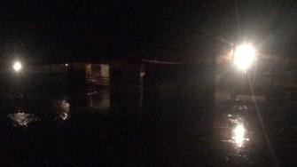 Ploaia torențială a provocat pagube în Sinoe. FOTO ISU Dobrogea