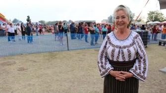 Mioara Velicu a participat la Festivalul Internațional de Dansuri Folclorice de la Negru Vodă. FOTO Dan Udrea