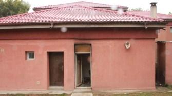 Lucrări la școala din comuna Poarta Albă. FOTO CTnews.ro