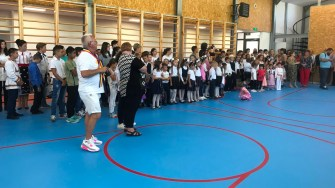 Sala de sport din Saraiu a fost inaugurată. FOTO Cristina Niță.