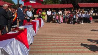 Deschiderea anului școlar la Saraiu. FOTO Cristina Niță
