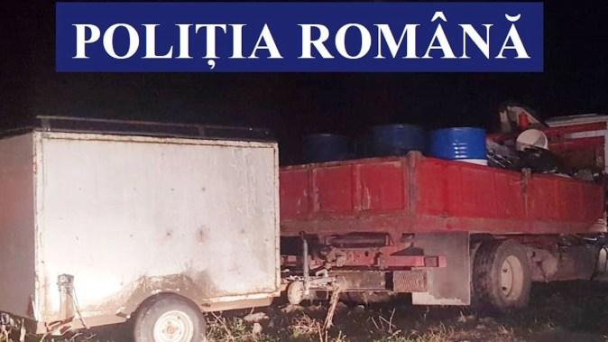 Gruparea care se ocupa cu contrabandă și evaziune fiscală a fost destructurată. FOTO Poliția Română
