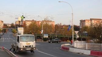 Primăria Cernavodă a pregătit iluminatul de sărbători. FOTO Adrian Boioglu