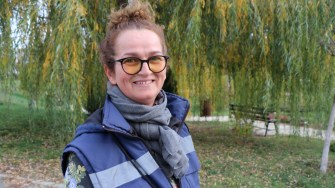 Diana Fedeleș - Spații Verzi Primăria Hârșova. FOTO Adrian Boioglu