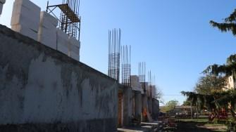 Primăria Saraiu construiește un cămin cultural. FOTO Adrian Boioglu