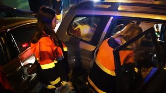 Mai multe echipaje medicale au ajuns la locul producerii accidentului. FOTO SAJ Constanța