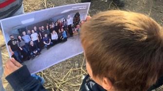Echipa Chimpex a făcut fericiți zeci de copii și familiile acestora. FOTO Chimpex