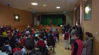 Ziua Națională, sărbătorită la Fântânele. FOTO Cătăin Schipor