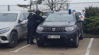 Polițiștii din trupele speciale, în alertă. FOTO CTnews.ro
