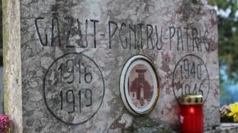Comuna Seimeni și-a cinstit eroii căzuți în cele două războaie mondiale. FOTO Adrian Boioglu