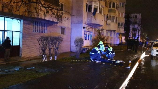 Polițiștii Serviciului Criminalistic au ajuns la fața locului. FOTO CTnews.ro