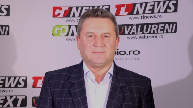 Gheorghe Moldovan, primarul comunei Albești. FOTO Adrian Boioglu