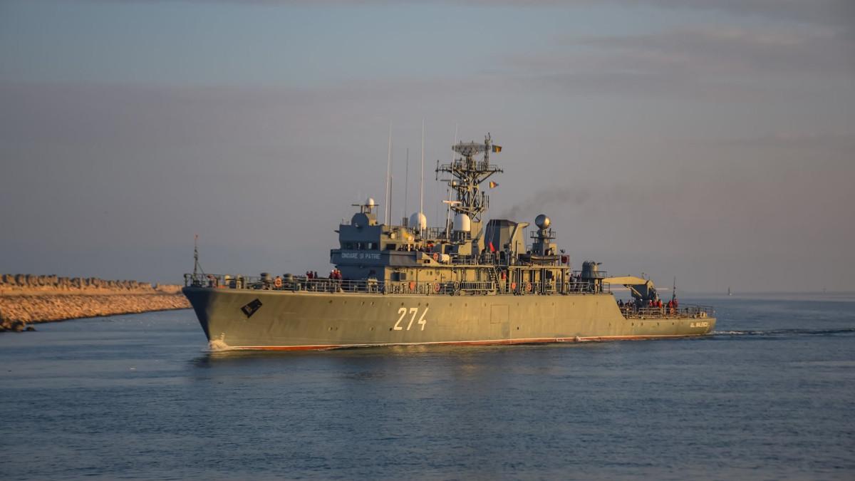 Viceamiral Constantin Balescu nava militara PM-274