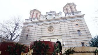 Sărbătoarea Bobotezei la Catedrala Sf. Apostoli Petru și Pavel din Constanța. FOTO CTnews.ro