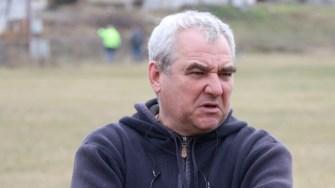 Marius Pelin, reprezentantul firmei care va reabilita stadionul din Cernavodă. FOTO Adrian Boioglu
