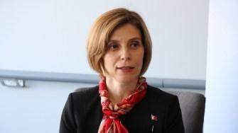 Fusun Aramaz, ambasadorul Turciei la București. FOTO Adrian Boioglu