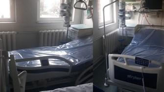 Paturi de terapie intensivă donate de Chimpex Spitalului Județean Constanța. FOTO SCJU