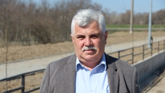 Mitică Șerban, primarul comunei Seimeni. FOTO Adrian Boioglu