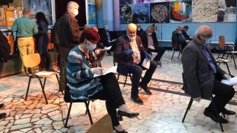 Ședința Consiliului Local Medgidia în care a fost ales viceprimar Niculae Păun. FOTO Media Tv