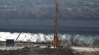 A fost semnat contractul de finanțare al lucrărilor de consolidare a malului. FOTO Primăria Cumpăna