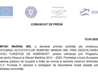 Romfish Marina - comunicat final de proiect