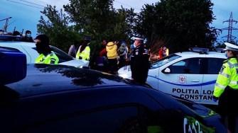 Persoanele depistate în urma acțiunii au fost trimise în localitățile de care aparțin. FOTO Primăria Constanța